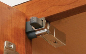 Cabinet Door Hinges - Raw Doors