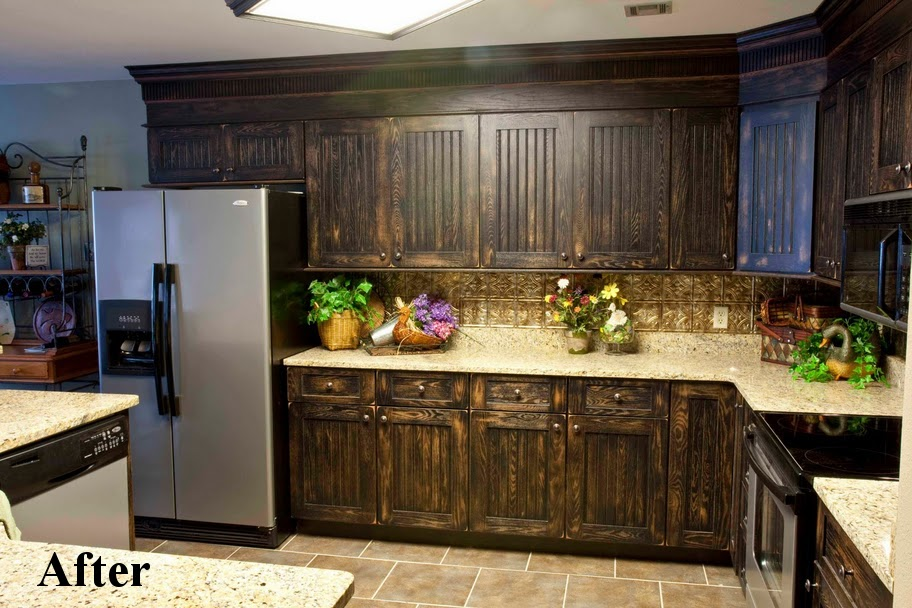 Below are ex&les of refaced kitchens & What is Kitchen Cabinet Refacing or Resurfacing? - Raw Doors